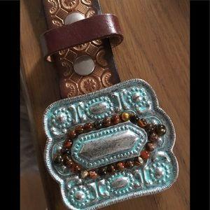LeatherRock USA ladies large belt